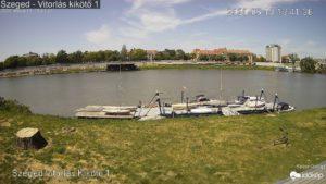 Szegedi vitorlás kikötő kamera 1