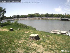 Szegedi vitorlás kikötő élő kép